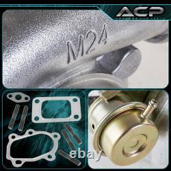 JDM Sport GT3076R GT30.70 A/R. 63 Compression Dual Ball Bearing Cast Iron Turbo