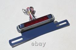 License Plate Holder LED Third Brake Stop Light Lamp Custom Truck Hot Rat Rod