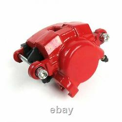 Mustang II IFS 11 Front Disc Conversion Kit Red GM D154 Calipers GM Ford 5 Bolt
