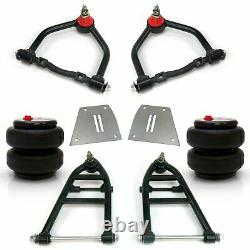 Mustang II IFS Front End Kit Airbag Arms Upper Lower Control lowering air bag 2