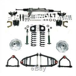Mustang Ii Ifs Kit With Power Steering Rack For 49-62 Ford