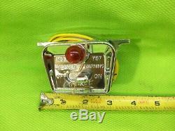 NOS Yankee 757 Vintage Hazard Warning Switch Nice! RatRod Mopar Ford Chevy