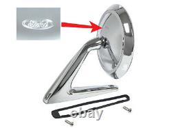 New 1960-64 Galaxie Mirror Outside Sideview 63-65 Fairlane Falcon 61 Tbird Ford