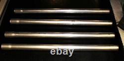 New! 2 DIY Exhaust Kit 45-90 Degree Straight Tubing 12 pc Set Aluminized Pipe