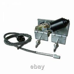 Power Windshield Wiper Converson Kit Single Arm 2 Speed Hot Rod Muscle Car GM