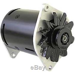 Powermaster PowerGEN Alternator 75 Amps Black Powdercoated 12V Generator Case