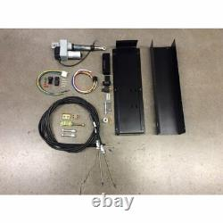 Push-Button Electrical Emergency Brake Kit with Cables parking ebrake GM Chevy