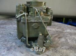 Rebuilt Vintage Carter Wcd Carburetor