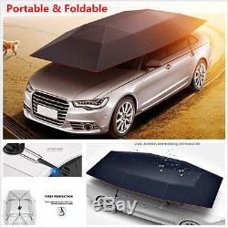 Semi-automatic Outdoor Auto Car Tent Umbrella Sunshade Roof Cover UV Protection