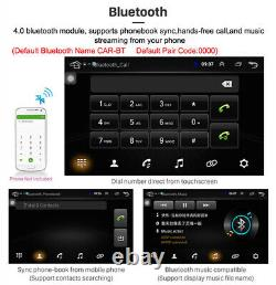 Single 1Din Android 8.1 Car Stereo Radio 9in Touch Screen MP5 Player GPS 1G+16G