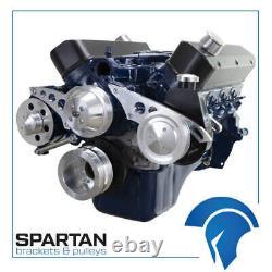 Small Block Ford 289 302 Serpentine Conversion Kit SBF Power Steering ALT