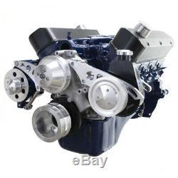 Small Block Ford 351W Serpentine Conversion Kit 351 Windsor System PS SBFL ALT