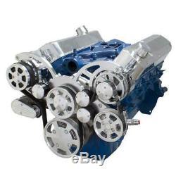 Small Block Ford Serpentine System All Inclusive SBF 289 302 351W Late Waterpump