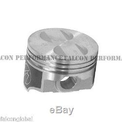 Speed Pro/TRW Ford 289 302/5.0 Forged Coated Flat Top Pistons+MOLY Rings Kit +30