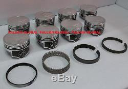 Speed Pro/TRW Ford/Mercury 351C Forged Coated Flat Top Pistons+MOLY Ring Kit +30
