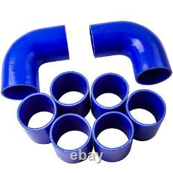 T04E T3/T4 A/R 0.63 400+HP BOOST TURBO WithOil Line+Intercooler +Piping Pipe Kits