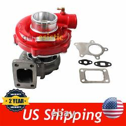 T04e T3/t4.63 A/r 57 Trim Red Housing Turbo Compressor 400+hp Boost Stage III