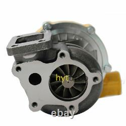 T04e T3/t4.63 A/r 57 Trim Yellow Turbocharger Compressor 400+hp Boost Stage III