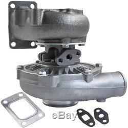 T04e T3/t4 A/r 0.63 44 Trim 5-bolt 400+hp Boost Turbo Charger Aftermarket Parts