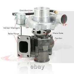 T3/T4 3 V-Band Hybrid T04B Turbo Charger JDM With Internal Wastegate For Nissan