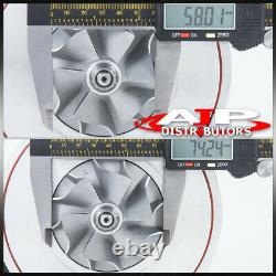 T3/T4 GT61 T304E. 50 A/R. 63 Compressor Dual Ball Bearing Turbocharger Turbine