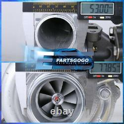 T3/T4 T04E T3 Turbo Charger. 63 A/R Turbine Civic Universal Turbocharger