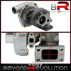 T3/T4 T04E Turbo Charger. 57 A/R Air Ratio 57 Trim Stage Iii 400+ Boost Upgrade