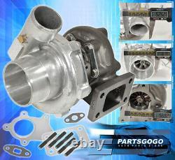 T3/T4 T3T4 T04E. 57 A/R Turbine 5 Bolt Flange Hybrid Racing Turbo Turbocharger