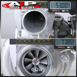 T3/T4 Turbo Charger 8 Blade Trim. 50 A/R 63 AR T04E Turbocharger Performance
