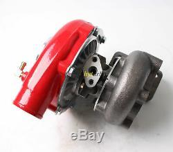 T3/t4 T3t4 T04e. 63 A/r Turbine 5 Bolt Red Housing Turbo Charger