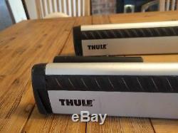 Thule ARB47 Roof Rack Crossbars with Thule rapid crossroad foot pack