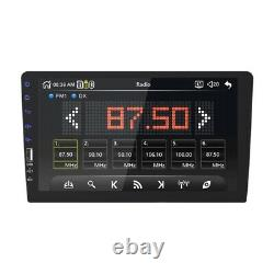 Touch Screen 1DIN 9inchs Car in Dash Radio Stereo MultiMedia Player Mirror Link
