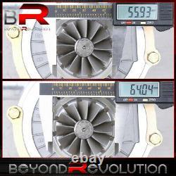 Universal. 50 Trim Compressor Turbocharger Turbine T3 T4 T04B. 63 A/R JDM Turbo
