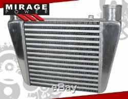 Universal Custom 16.5X11X2.75 Top Mount/Exit Jdm Aluminum Turbo Intercooler