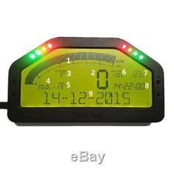 Universal Dash Race Display Bluetooth Full Sensor Kit Dashboard LCD Screen Gauge
