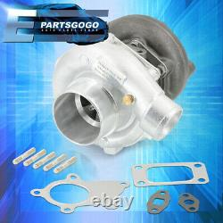 Universal Hybrid T3/T4 Turbo Charger. 57 A/R Trim Stage III Turbocharger 400+ HP