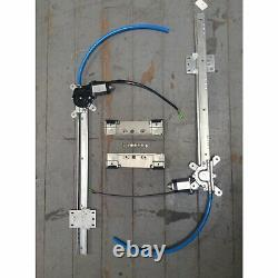 Universal Power Window Kit + One Touch Up/ Down Crank Switch Conversion Hot Rod