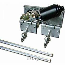 Universal Power Windshield Wiper Motor Kit Street Rod Hot Rod Chevy GM auto olds