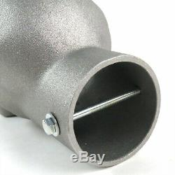 Unpolished Skull Exhaust Tip Original 2.5 streetrod v8 truck hot rod Pickup