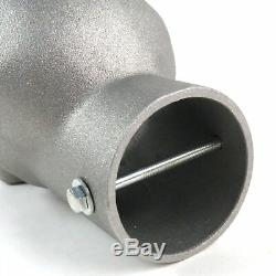 Unpolished Skull Exhaust Tip Original 2.5 streets rods rat rods muscle cars