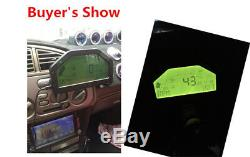 Vehicles Car Dash Race Display OBD2 Bluetooth Dashboard LCD Screen Digital Gauge