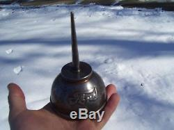 Vintage 1908 dated Ford original Oil can under hood auto tool kit promo part old