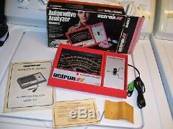 Vintage 1970's nos Engine tune-up tester meter auto service gm street rat rod