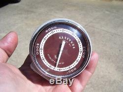 Vintage 50s Auto dash Altimeter gauge gm ford chevy rat street rod pontiac ss