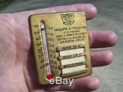 Vintage 50s Service station Visor oil gas reminder gm ford chevy rat rod pontiac