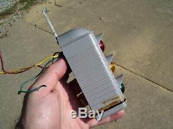 Vintage 50s auto Brake light Rear window accessory gm pontiac ford chevy hot rod