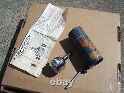 Vintage 60s AC delco Tachometer chrome auto test part service gm show accessory