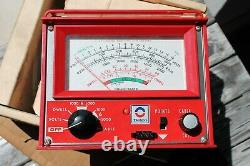 Vintage 60s Delco Tune-Up auto engine service meter chevy gm ford ac car hot rod