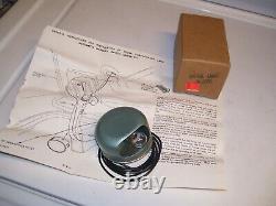 Vintage 60s nos JW Hobbs Trunk hood auto service light gm street rat hot rod amc