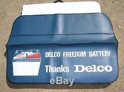 Vintage 70s nos AC Delco Battery Fender auto accessory gm car chevy ford parts
